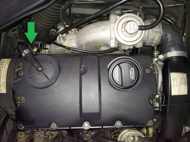 A4 B5 18t Anb Wymiana Uszczelki Pod Pokrywa Zaworów Audi A4s4