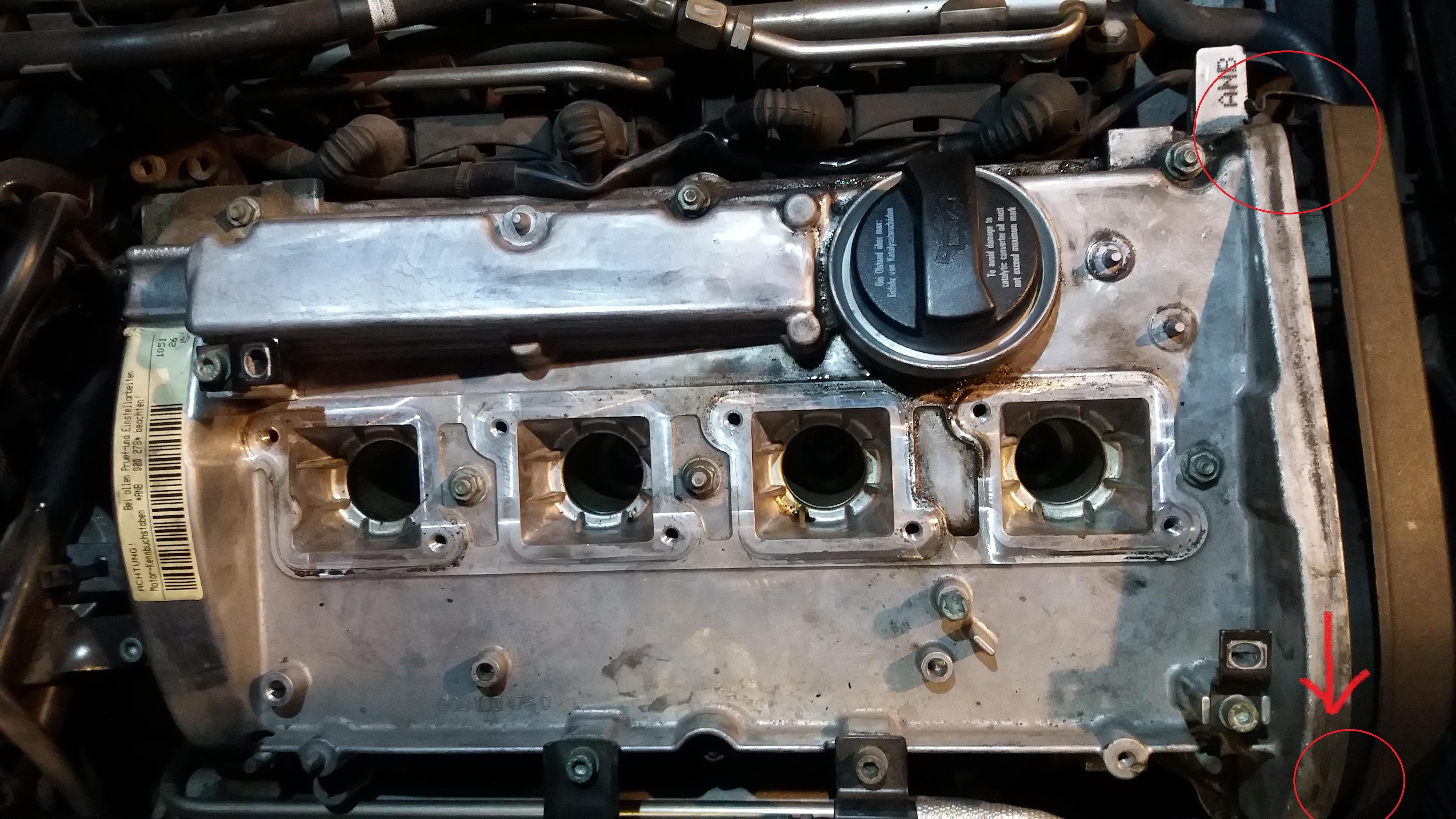 A4 B5 Wymiana Uszczelki Pokrywy Zaworów I Uszczelki Pod Napinaczem